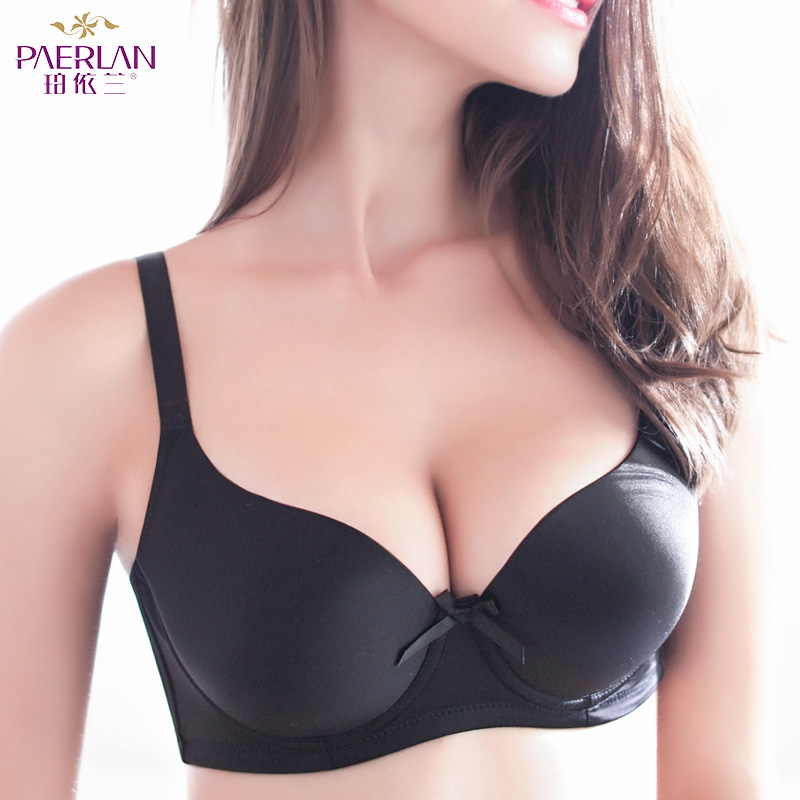 PAERLAN Large cups summer thin section of women bra big chest was chubby MM large size adjustment received underwear underwear