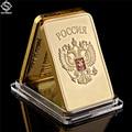 Gold Bullion Bar UDSSR Nationalen Emblem Gold Bar Sowjetischen Gedenk Souvenir Münze Metall Dekoration Geschenke