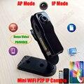 Мини Wi-Fi P2P IP Видеокамера Видеокамеры Веб-Камера Беспроводной Телефон спорт Автомобиль Baby Monitor Motion Detect Video Запись TF Карта MD81S