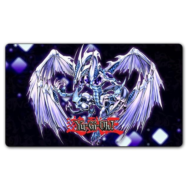 Ygo 27 Playmat 35x60 Cm Yu Gi Oh Die White Dragon Spielmatte