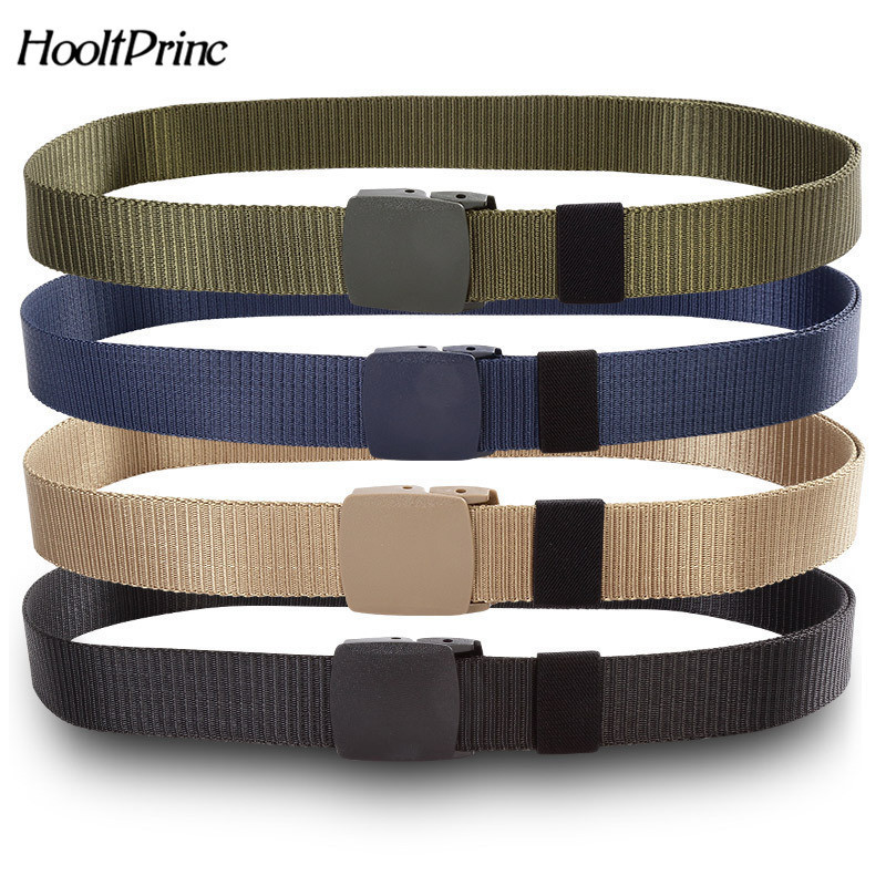 125CM Marine Corps Tactical Belts Military Canvas Belt For Mens Buckle Belts Nylon Outdoor Sports Ceinture Jeans Casual Cintos