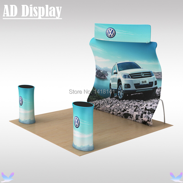 Exhibition Booth Printing : M exhibition booth portable u shape tension fabric