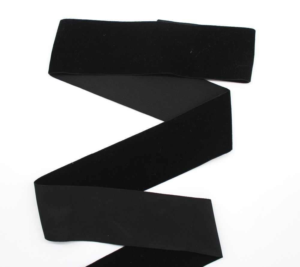 ブラックカラーのベルベットリボン環境にやさしい片面生地テープ手作り芸術 3 ミリメートル 6 ミリメートル 9 ミリメートル 13 ミリメートル 16 ミリメートル 19 ミリメートル 22 ミリメートル 25 ミリメートル 38 ミリメートル 50 ミリメートル