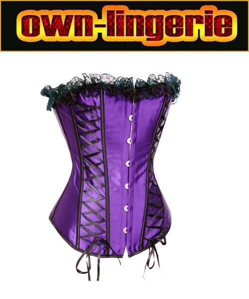Plus Size Sexy Lace up Boned   Corset   Halloween Dress   Bustier   Top Waist Shaper w3057