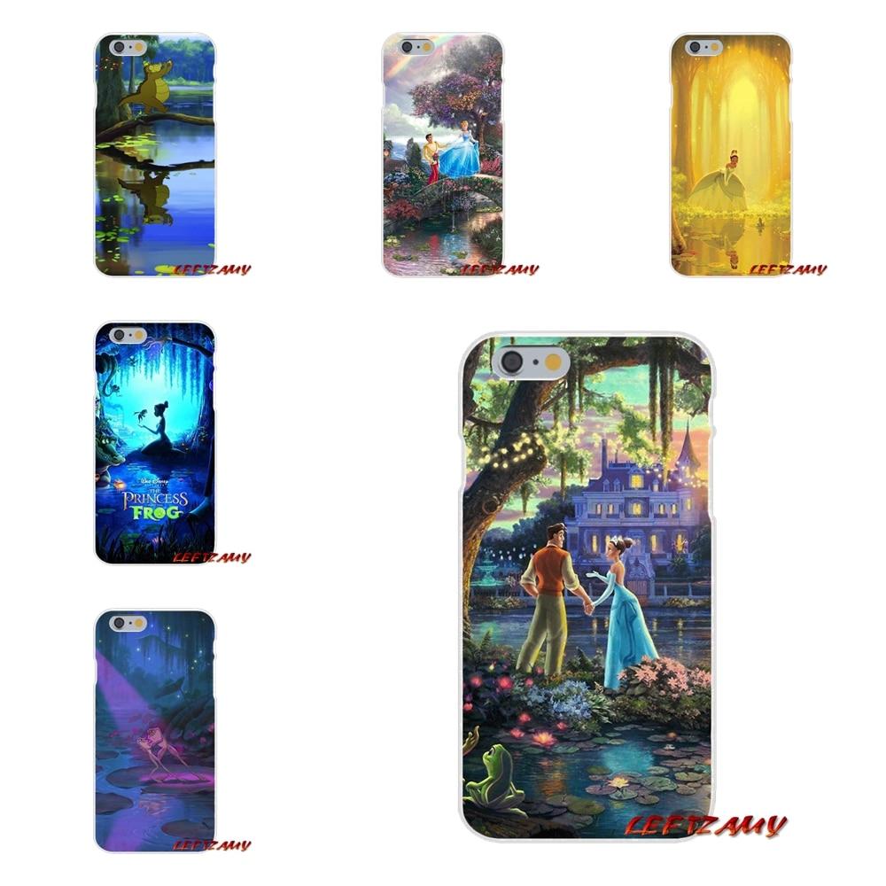 For Sony Xperia M2 M4 M5 E3 XA Aqua Z Z1 Z2 Z3 Z5 compact LG K4 7 8 10 V20 V30 2017 Fashion Case The Princess And The Frog Movie