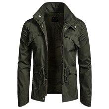 2019 Spring And Autumn Fashion Jacket Men's Casual Jacket Men's Large Size Coat Windbreaker Thin Coat Men's Cotton Jacket