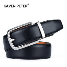 100 % Genuine Leather Belt For Men Italian Import Top Grain Leather Stainless St