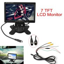 7 Inch 2CH HD 800 480 TFT LCD Screen Car Monitor for Rear View font b