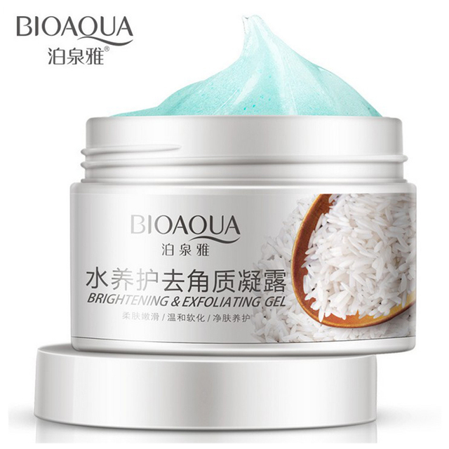 2016 Facial Skin Care Brand BIOAQUA Oil-control Hydrating Moisturizing Cream Shrink Pore Brightening Skin Exfoliating Cream 140g