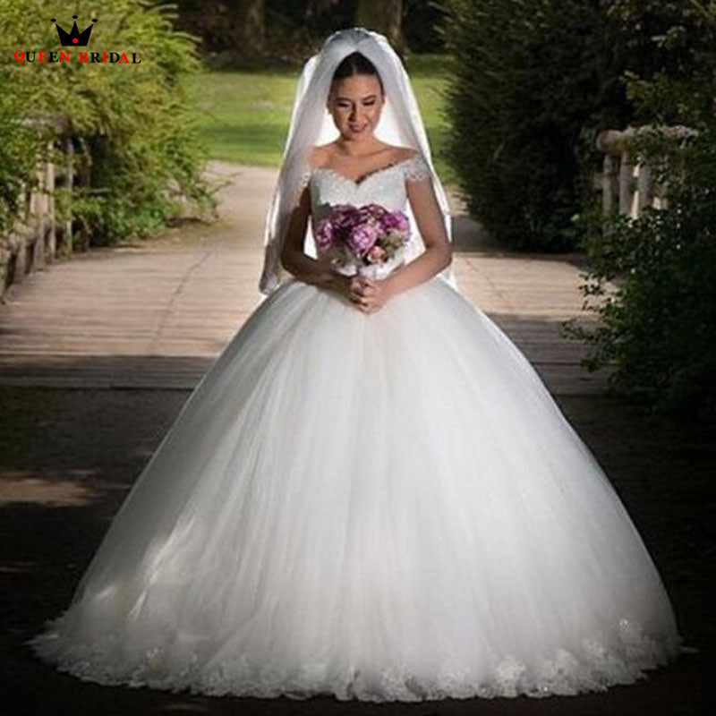 Vintage Lace Cap Sleeves Tulle Princess Wedding Dresses: Custom Made Princess Cap Sleeve Wedding Dresses Fluffy