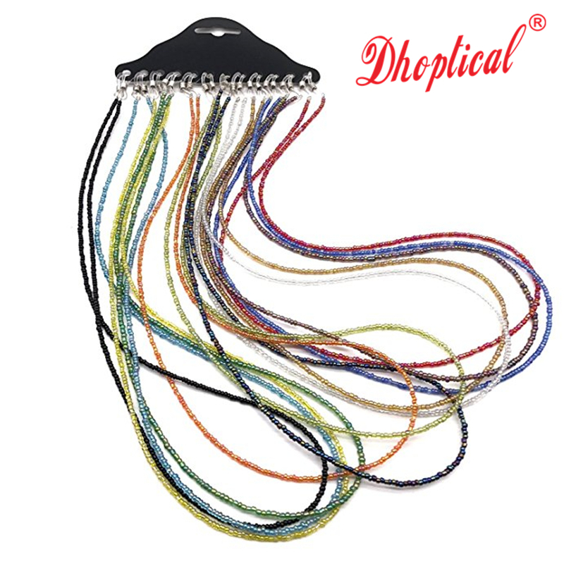free shipping, eyeglasses chain ,sunglasses reading glasses chain Acrylic material 12pcs wholesale mix color