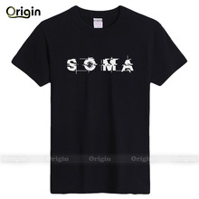 Game player's love T-shirts printed SOMA man's funny T-shirts team member's performance T-shirt man's regular casual wear tshirt