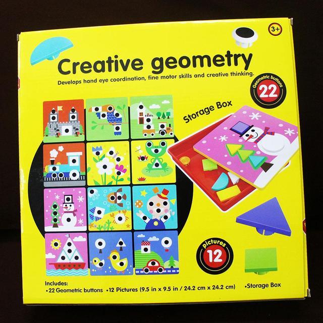 3D Puzzle For Children Composite Picture Puzzle Creative Mosaic ...