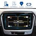 Für Suzuki Vitara 4th 2015 2016 2017 2018 Auto GPS Navigation Bildschirm Gehärtetem Stahl Schutz glas Film LCD Bildschirm Aufkleber-in Autoaufkleber aus Kraftfahrzeuge und Motorräder bei