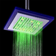 Color Changes Led Shower Heads emperature Control 3 Color Led Shower Heads Colorful Led Shower Head Romantic Design LD8030-C5