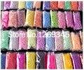 9000/25 de color Telar bandas Recargas Más Caliente, telar bandas de goma, Banda de Goma Telar Para la PULSERA DIY pulsera de goma
