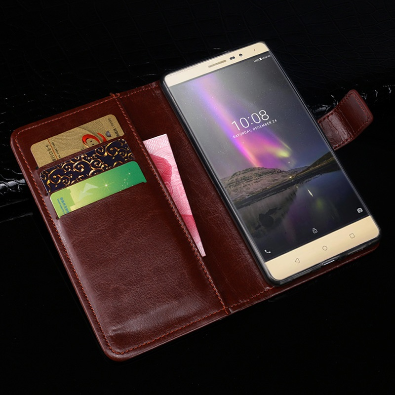 Yooyour Case For Elephone U Fashion Luxury Protective Leather Case For Elephone U pro Cover Wallet Style ID Slot and Stand
