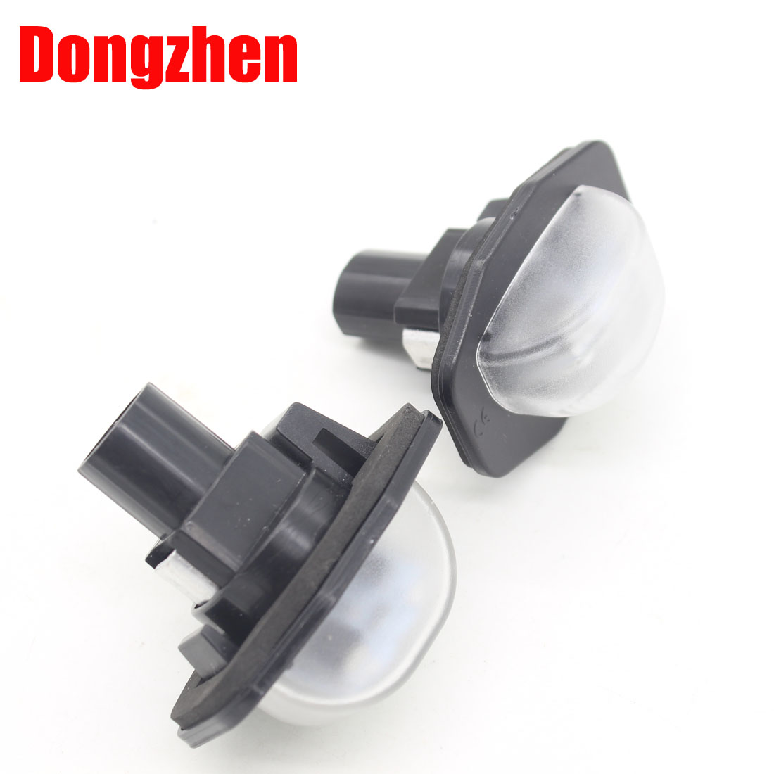 Dongzhen Top quality Error free LED License Plate Light Fit For Toyota Alphard Auris Corolla Wish Sienna Urban 2pcs new design digital pvs 14 night vision scope for hunting wargame cl27 0008