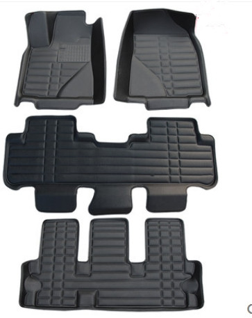 Newly & Free shipping! Custom special floor mats for Toyota Highlander 7 seats 2013-2009 durable car carpets for Highlander 2010