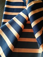 High quality polyester stretch colorful stripe jacquard fabric for felt patchwork sewing DIY dress women clothing