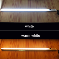 Led Closet Light With PIR Motion Sensor Kitchen Led Under Cabinet Light Night Light Lamp DC