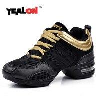 YEALON Shoes Dancing Sneakers For Women Wedge Dance High Heel Shoes Salsa Dance Jazz Sneakers Zapatillas