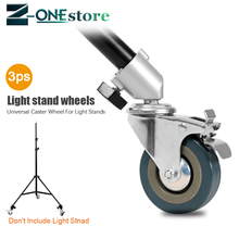 3PCS 22mm Photography Heavy Duty Universal Caster Wheel For