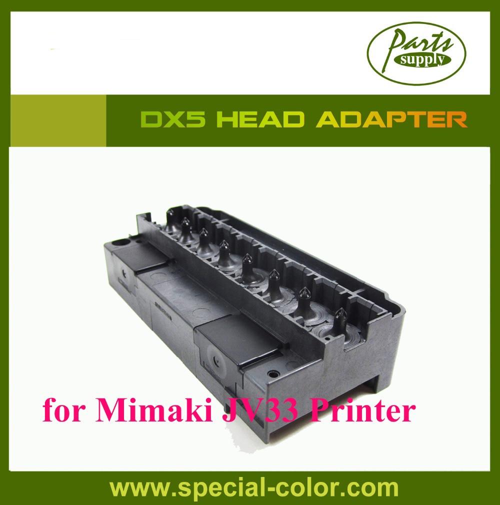 Hot Selling! DX5 Solvent Printer Mimaki JV33 Head Capping Head Cap 4pcs pack japan mimaki jv5 cap station dx5 eco solvent capping station top original
