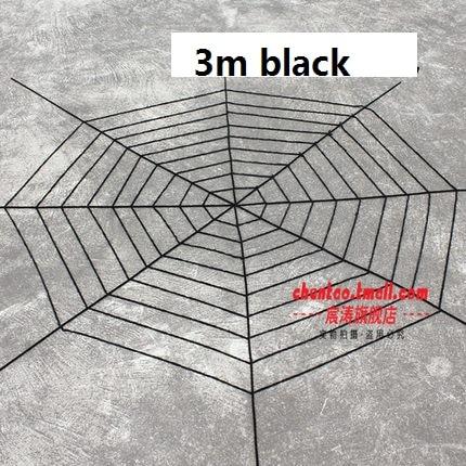 Tela de nylon viuda negra Telaraña gigante para decoraciones al aire - Para fiestas y celebraciones - foto 1