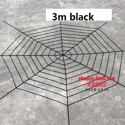 Nylongewebe Black Widow Riesen Spinnennetz für Halloween Indoor Outdoor Dekorationen und Geschenke Schwarz Erhältlich