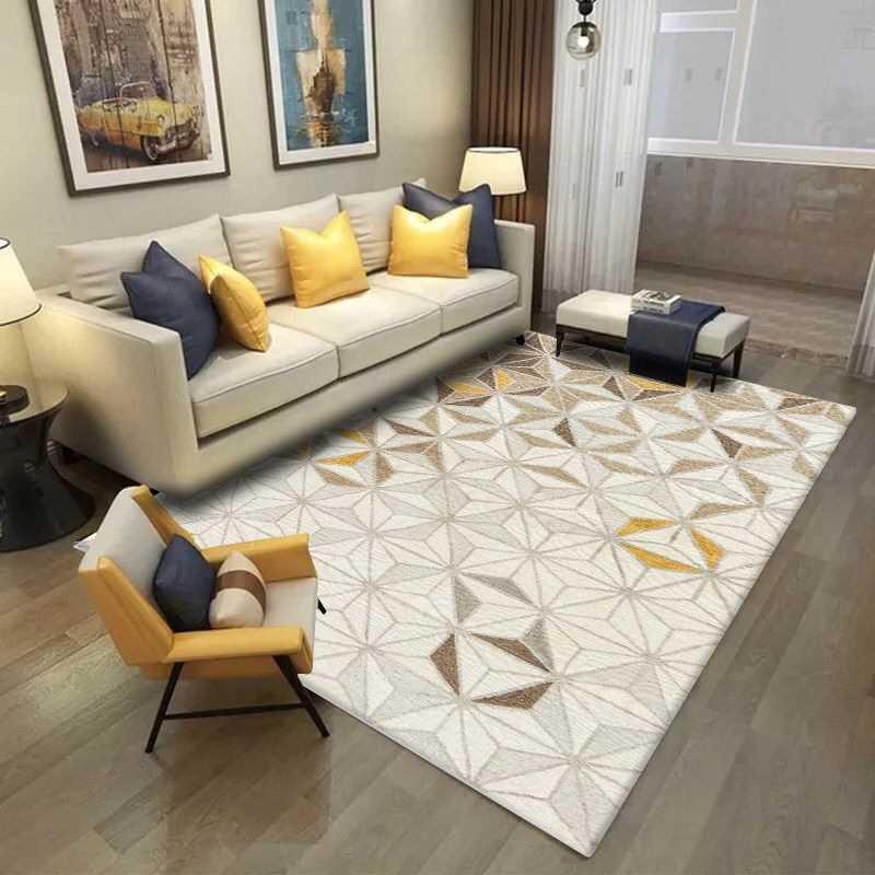 Nordic Minimalist Area Rug And Carpet