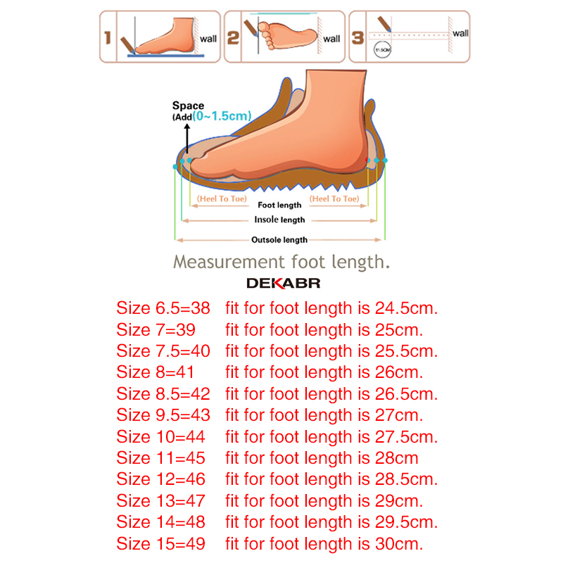 DEKABR Large Size 50 Men Loafers Soft Moccasins High Quality Spring Autumn Genuine Leather Shoes Men DEKABR Large Size 50 Men Loafers Soft Moccasins High Quality Spring Autumn Genuine Leather Shoes Men Warm Flats Driving Shoes
