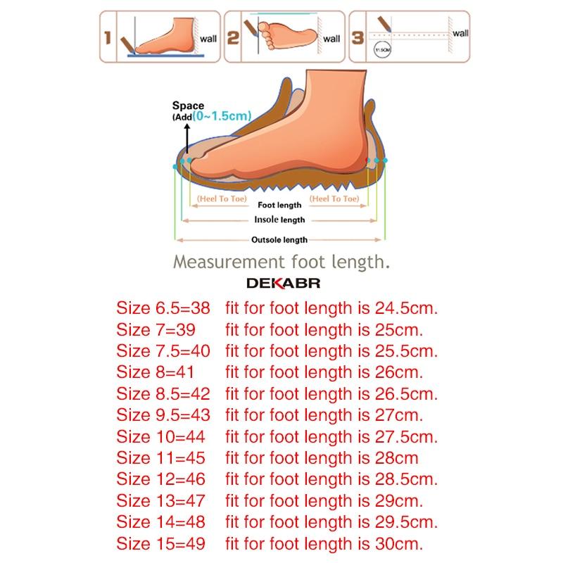 DEKABR Size 49 Men Casual Shoes Fashion Men Shoes Genuine Leather Men Loafers Moccasins Slip On DEKABR Size 49 Men Casual Shoes Fashion Men Shoes Genuine Leather Men Loafers Moccasins Slip On Men's Flats Male Driving Shoes