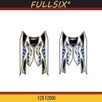 Front Fairing Motor Number Board 3D Gel Protector for YAMAHA FZ8 FZ800 2010