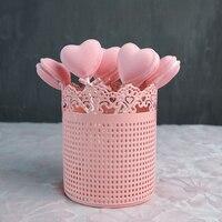 gold lollipop holder cake stand Makeup brush Storage wedding cake tools home decoration bakeware Kitchen,Dining & bar