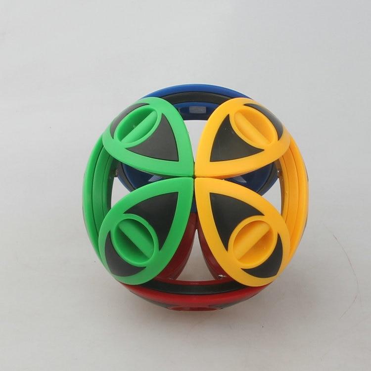 Даян Гортензия Головоломка Куб без наклеек 4 цвета/без наклеек 3 цвета/черный/прозрачный Прямая поставка - Цвет: 4 colors Stickerless
