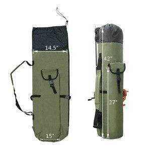 Image 3 - Shaddock Vissen Draagbare Multifunctionele Nylon Vissen Zakken Hengel Bag Case Visgerei Gereedschappen Opbergtas