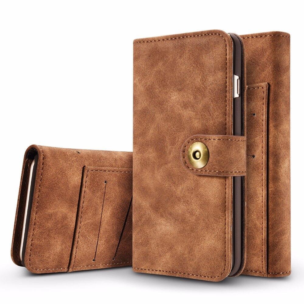 Retor Съемная Винтаж магнитная кожа телефон, кошелек, сумка чехол для Apple IPhone 5 5S SE 7 6 6S плюс телефонные Чехлы Fundas (<