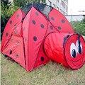 2018 горячая Распродажа детская палатка детская игровая мини палатка Божья коровка палатка для улицы