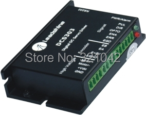 Leadshine DCS303 Brushed Servo Drive with Max 30 VDC Input Voltage and 15A Current leadshine dc servo driver acs606 brushless servo drive max 60 vdc 18a peak