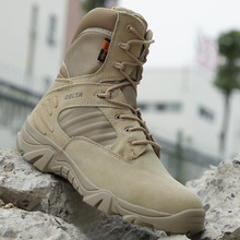 Military Tactical Mens Boots Special Force Leather