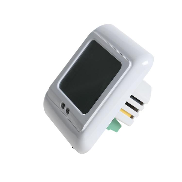 24 в/30 в/110 в/220 в еженедельный программируемый цифровой напольного отопления термостат с подсветкой жк-сенсорный экран