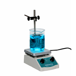 Image 3 - SH 2 Laboratory Magnetic Stirrer with heating Blender mixer Hot Plate with Magnetic Stir Bar