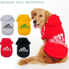 Large Canine Garments Coat Jacket Clothes For Canines Massive Dimension Spring Heat Hoodie Attire Sportswear perros mascotas Adidog Golden Canine
