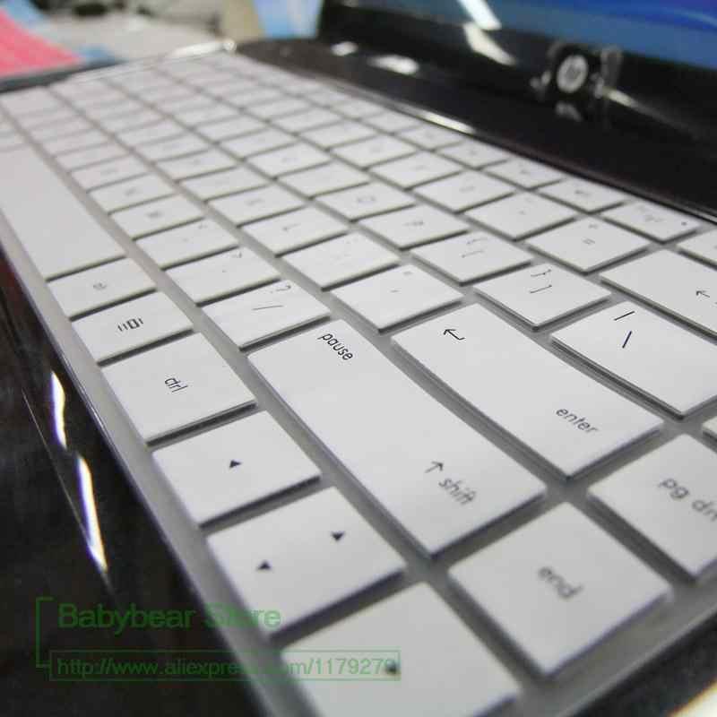 جديد سيليكون لوحة المفاتيح غطاء ل HP بافيليون G4 G42 CQ42 كومباك CQ42 CQ321 DV5 الحسد 14