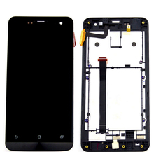100% Original Touch Screen+lcd Display Panel Screen Assembly+frame For Asus Zenfone 5 A500cg A501cgl T00j Free Shipping