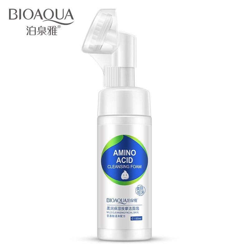Limpador de Cuidados da Pele Envelhecimento Bioaqua Produto Acne Escova