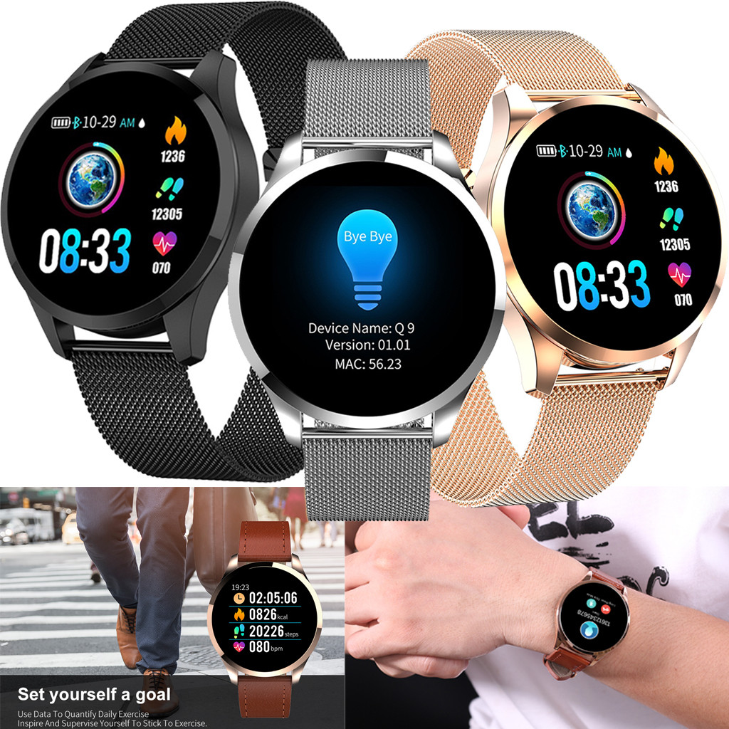 Smartwatch 1.22 inch Color Screen with Blood Pressure, Heart Rate Monitoring, Smart Watch Bluetooth for Android iOS Smart Phones Apple Phones Head Phones & Wearable Mobile Phones cb5feb1b7314637725a2e7: A|B|C|D|E|F