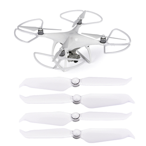 Image 1 - 4 Pcs 9455s Elica Puntelli Protector per Dji Phantom 4 Pro V2.0 Avanzata Drone 9455 A Basso Rumore Del Respingente della Lamierina guardia di Protezione