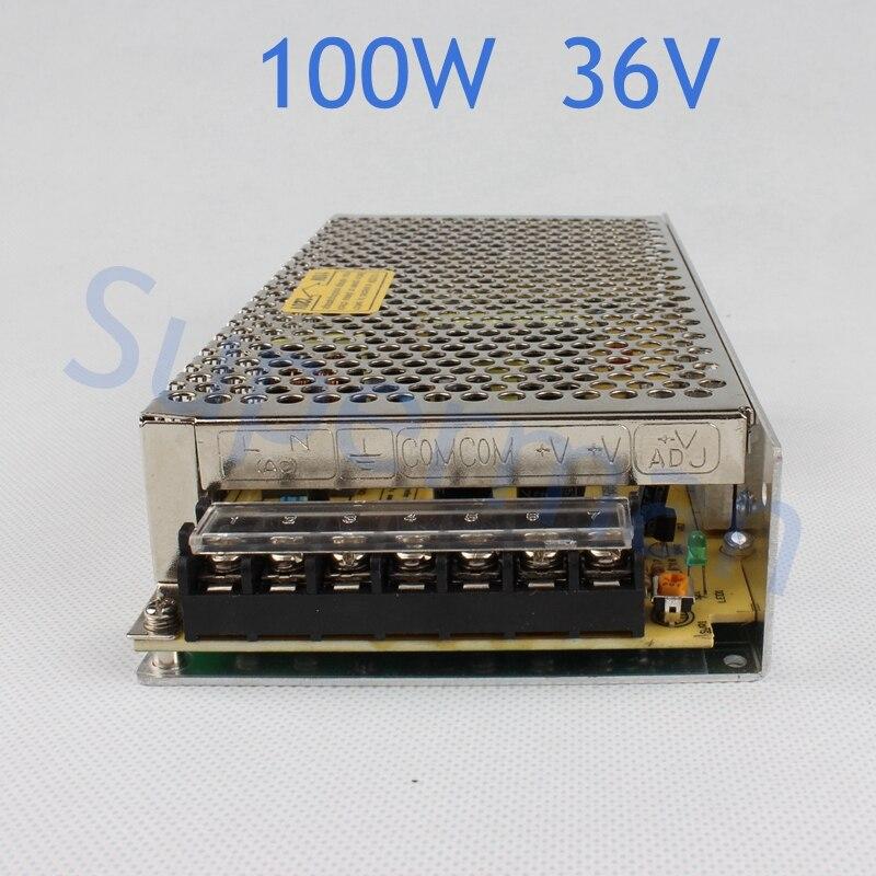 power supply 100W 36V 2.8A power suply unit 100w 36v mini size din led  ac dc converter ms-100-36 spe 100w 12v 100w 8 3a led power supply converter black